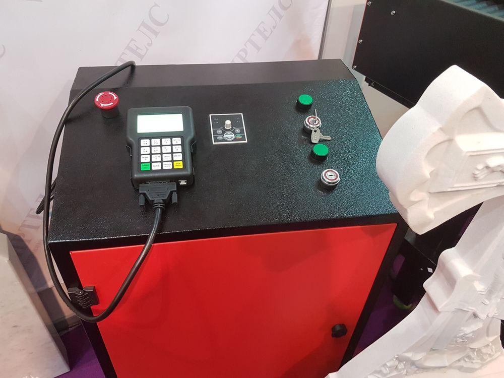 Система управления фрезерным станком по камню