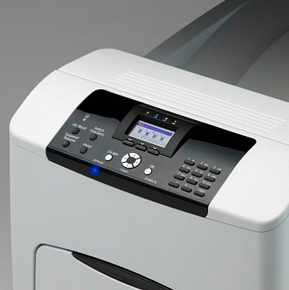 цветной лазерный декольный принтер